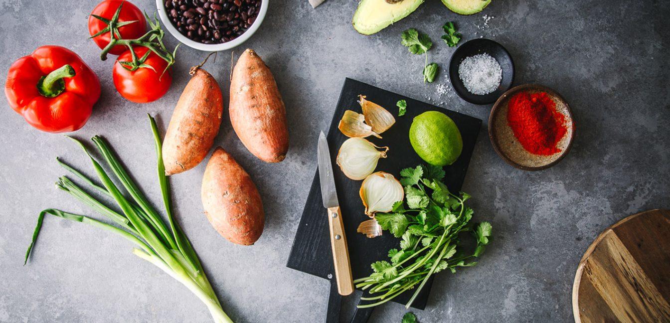 Gesunde Zutaten für eine ausgewogene Ernährung