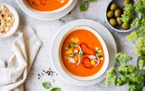 Kalte Paprikasuppe – leicht und erfrischend