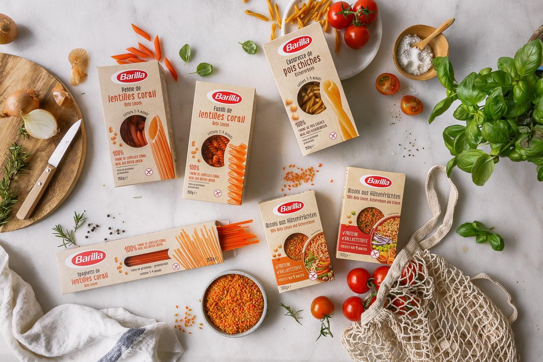 Barilla Hülstenfrüchte Pasta