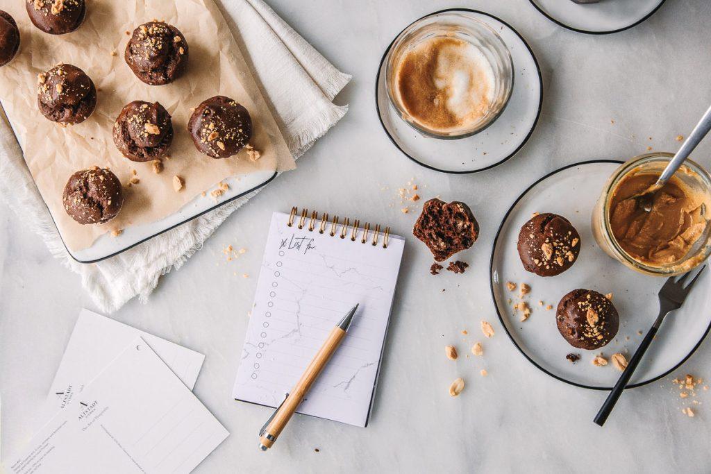 Gesunde Mini-Schoko-Muffins