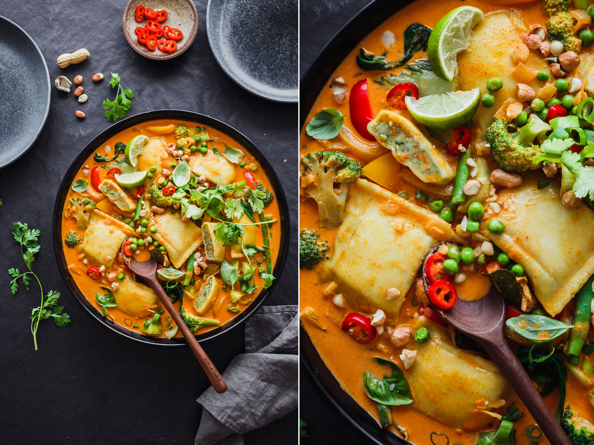 Maultaschen-Curry