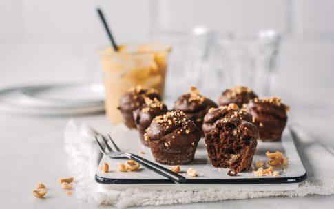 Mini Schoko-Muffins aus fünf Zutaten