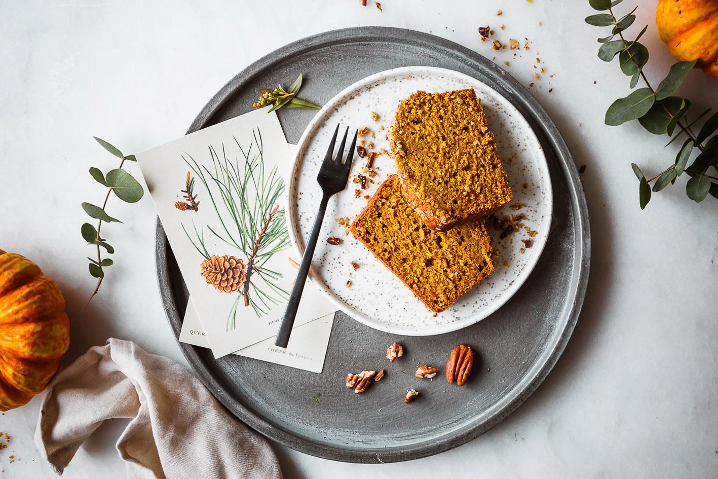 Gesunder Kürbis-Streusel-Kuchen