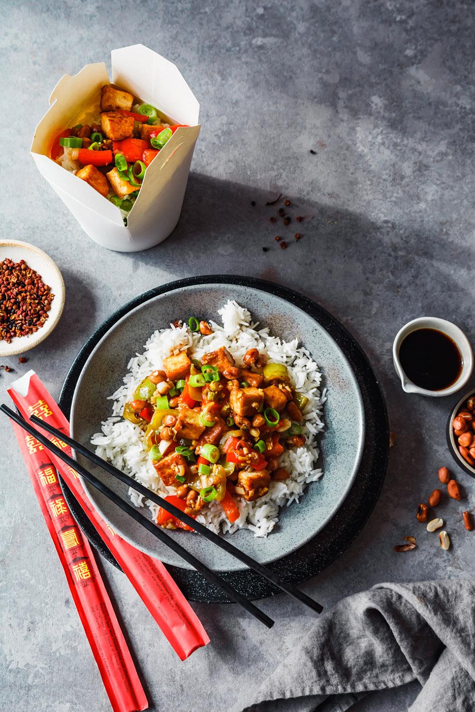 Rezept für Tofu Kung Pao