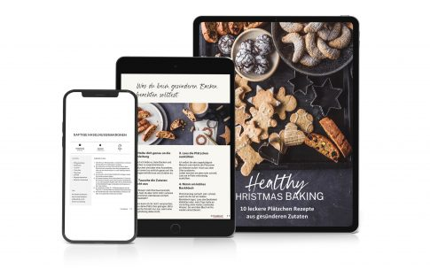 "Mein neues E-Book ""Healthy Christmas Baking"""