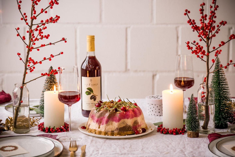 Weihnachtliche Getränkebegleitung