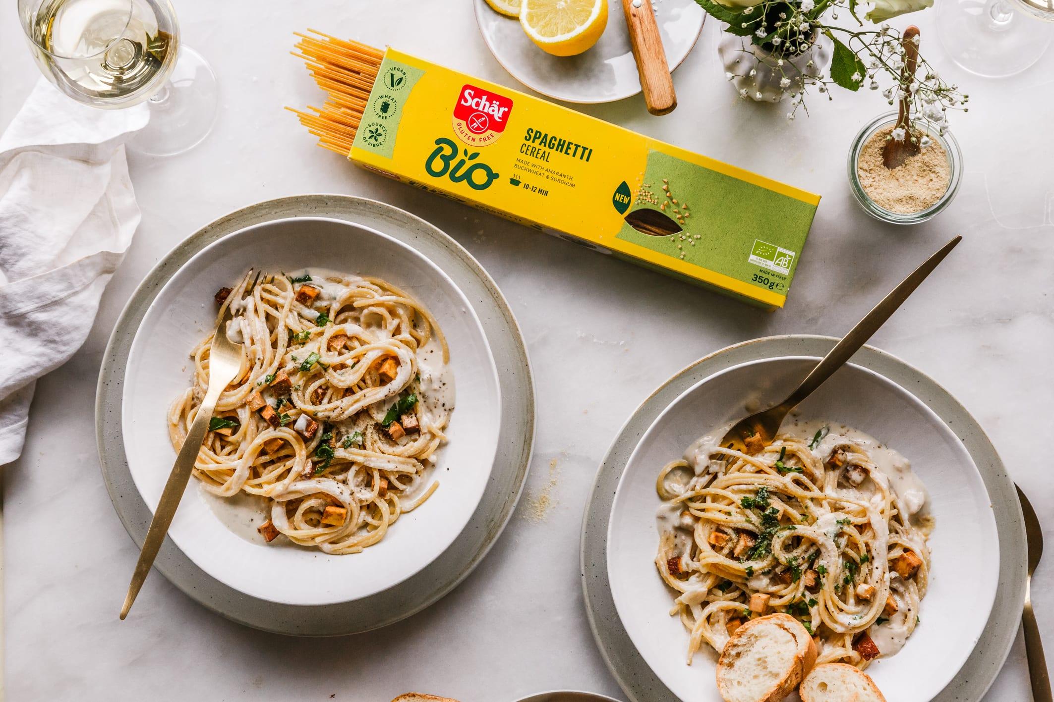glutenfreie spaghetti carbonara