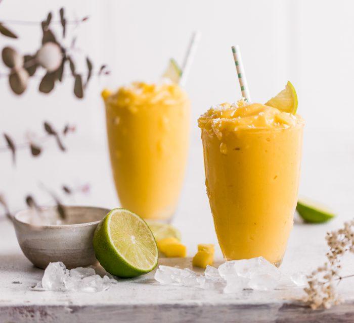 Gesunder Mango Milchshake